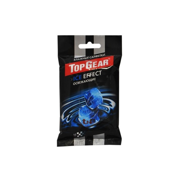 фото Набор салфеток влажных для рук очищающих Авангард TG-48230 Top Gear