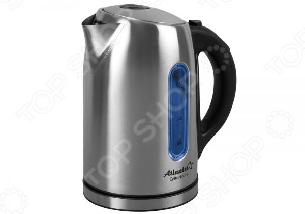 Чайник Atlanta ATH-2531Чайники электрические<br>Чайник Atlanta ATH-2531 - простая и практичная модель, незаменима на любой кухне. Чайник мощностью 2100 Вт и объемом 1,7 л, в считанные минуты вскипятит воду. Модель выполнена из нержавеющей стали, которая при нагревании не выделяет вредных веществ. Закрытый нагревательный элемент. При закипании чайник автоматически выключается. Модель отлично подойдет как для домашней кухни, так и для использования в офисе.<br>