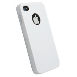 фото Накладка Krusell ColorCover для iPhone 4. Цвет: белый