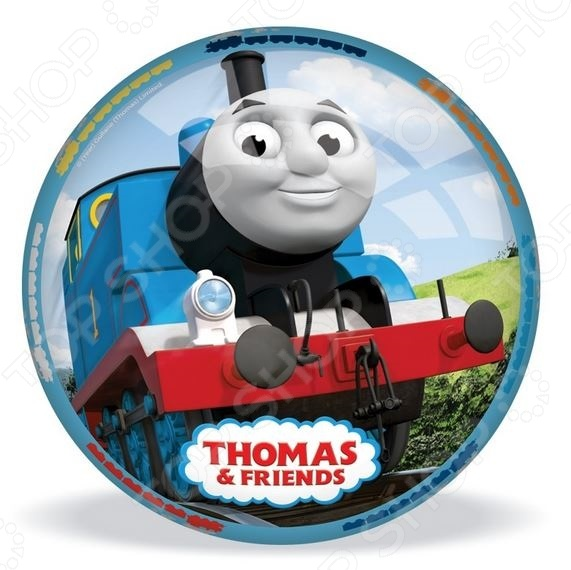 Мяч Mondo «Томас». В ассортиментеМячи детские<br>Товар продается в ассортименте. Вид изделия при комплектации заказа зависит от наличия товарного ассортимента на складе. Мяч Mondo Томас прекрасно подойдет для активных игр как дома, так и на открытом воздухе. Игры с мячом способствуют развитию у детей ловкости, меткости, выносливости и координации движении. Мячик выполнен из высокопрочных нетоксичных материалов и украшен изображениями героев известного детского мультсериала Томас и друзья . Предназначено для детей в возрасте от 3-х лет.<br>