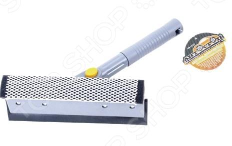 Щетка для мойки с губкой и сгоном для воды Автостоп AB-1727 щетка для мытья автомобиля с подачей воды stels 55222