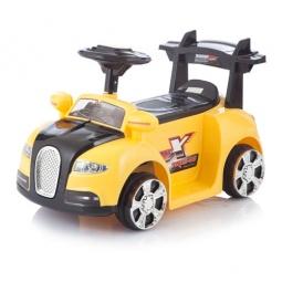 фото Электромобиль Jetem Bugatti. Цвет: желтый