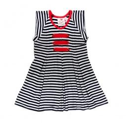 фото Платье детское в полоску Fore N Birdie Navy/White Stripe