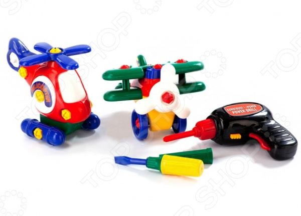 Конструктор пластмассовый Bradex «Маленькая авиация» кудишин и авиация