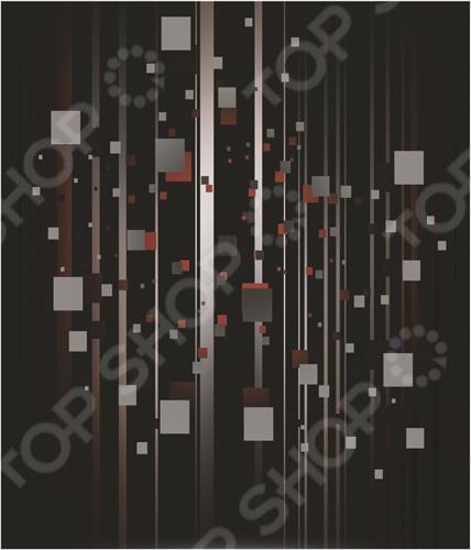 Тетрадь в клетку на гребне лакированная Пересвет «Фигуры»