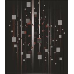 фото Тетрадь в клетку на гребне лакированная Пересвет «Фигуры»