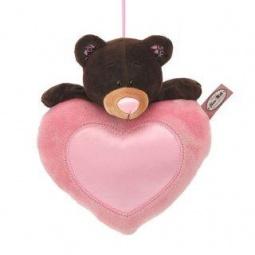 фото Мягкая игрушка для ребенка Orange «Медведь девочка на сердце»