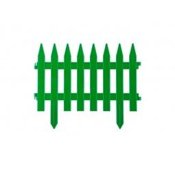 фото Забор декоративный Grinda «Классика» 422201. Цвет: зеленый