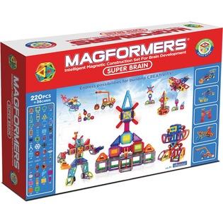 Купить Конструктор магнитный Magformers Super Brain Up set