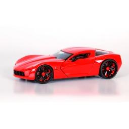 фото Модель автомобиля 1:24 Jada Toys 2009 Corvette Stingray. Цвет: красный