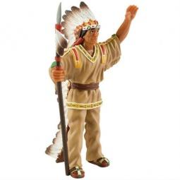 Купить Игрушка-фигурка Bullyland Вождь индейцев