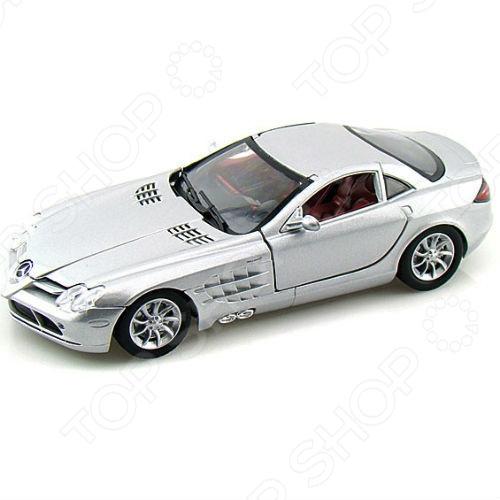 Модель автомобиля 1:24 Motormax Mercedes-Benz SLR McLaren модель автомобиля 1 18 motormax fiat nuova 500 cabrio