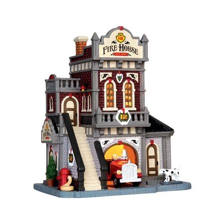 Купить Домик керамический Lemax «Пожарный участок»