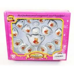 фото Набор посуды игрушечный Shantou Gepai «Мишка» 2074-C1