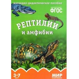 Купить Рептилии и амфибии. Наглядное дидактическое пособие