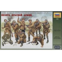 фото Сборная модель Звезда Пехота Красной Армии