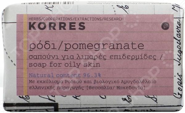 Мыло для лица Korres «Гранат»