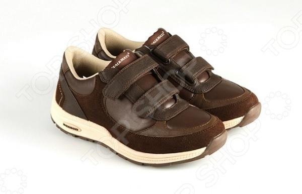 Ботинки адаптивные женские Walkmaxx. Цвет: коричневый