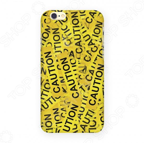 Чехол для iPhone 6 Mitya Veselkov «Оранжевый скотч» чехол для iphone 6 mitya veselkov мозаика