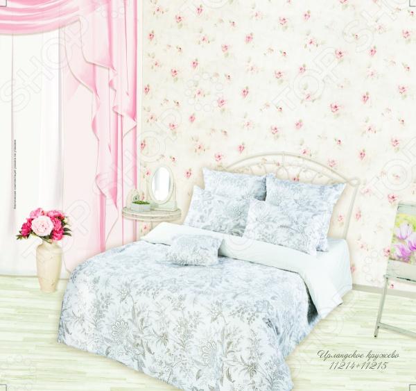 где купить Комплект постельного белья Романтика Ирландское кружево по лучшей цене