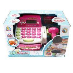 фото Касса игрушечная Shantou Gepai со сканером FS-34442