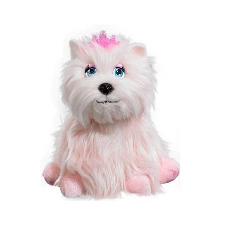 Купить Мягкая игрушка интерактивная Vivid Щенок «Принцесса София»