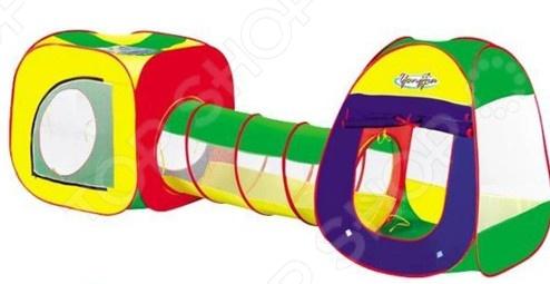 Палатка игровая с туннелем Наша Игрушка «Комплекс с туннелем-2»