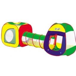 Купить Палатка игровая с туннелем Наша Игрушка «Комплекс с туннелем-2»