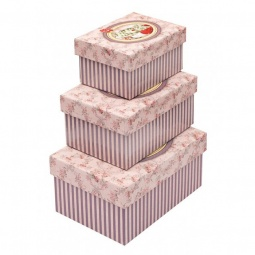 фото Набор из 3-х коробок Белоснежка «Розовая»