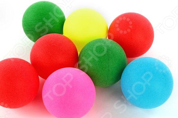 Мяч для настольного тенниса Shantou Gepai 635057. В ассортименте ракетка для настольного тенниса torres sport 1 tt0005