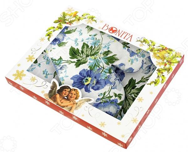 Комплект кухонный подарочный BONITA «Английская коллекция» 01010215425 прихватка перчатка mayer