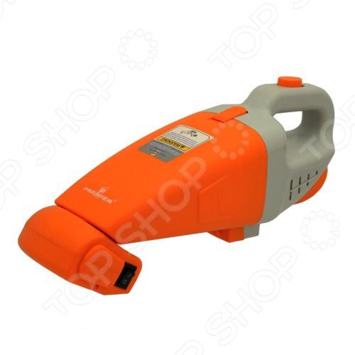 Пылесос автомобильный FK-PREMIER VC-525 компактный автомобильный помощник с фильтром, который отлично всасывает, обеспечивая качественную очистку от пыли, грязи, шерсти и жидкостей в салоне автомобиля, под сидениями, а также в багажном отделении. Работает от прикуривателя. В комплект входят насадки для более удобного использования в труднодоступных местах.  Электрощетка.  Шланг.  В комплекте 2 насадки.
