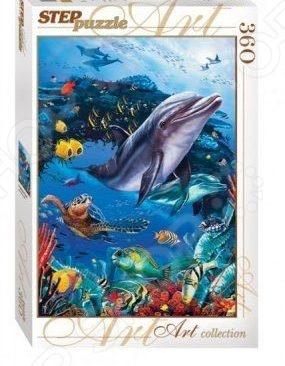 Пазл 360 элементов Step By Step «Подводный мир» 27937 пазл step puzzle подводный мир 360 элементов 73061