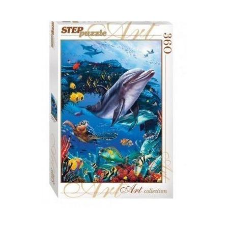 Купить Пазл 360 элементов Step By Step «Подводный мир»