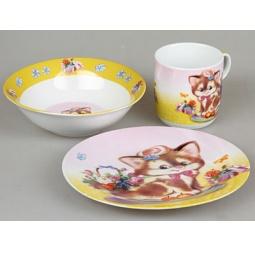 фото Набор посуды для детей Rosenberg 8795