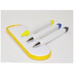 Купить Набор: маркер для текста, карандаш механический и ручка Beifa «Сувенир»