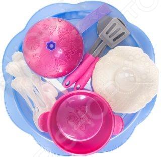 Игровой набор для девочки Нордпласт «Волшебная хозяюшка. Посуда»