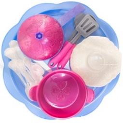 фото Игровой набор для девочки Нордпласт «Волшебная хозяюшка. Посуда»