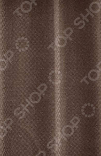 Штора и крючки для ванной White Fox WBCH10-299 Excellent Satin White Fox - артикул: 529512