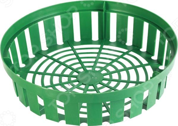 Корзина для луковчиных Archimedes 90705Полезные мелочи<br>Корзина для луковчиных Archimedes 90705 специальная корзина, в которой можно выращивать лук и другие растения, типа: тюльпанов, нарциссов, гиацинтов, крокусов. Удобство выращивания в такой корзине заключается в том, что такой способ позволяет вкопать корзину с луковицами в любом уголке сада, а после того как они отцветут, достать и перенести в то место, где растения полностью сформируют луковицы, а значит, зацветут на будущий год.<br>