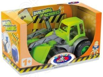 Машинка игрушечная Zebratoys «Трактор с ковшом»Машинки<br>Машинка игрушечная Zebratoys Трактор с ковшом обязательно понравится юным автолюбителям. С такой машинкой ребенок сможет придумать множество интересных и увлекательных игр. Этот автомобиль очень похож на настоящий трактор. Играя с такой машинкой, ребенок сможет развивать мелкую моторику рук, а также фантазию и воображение, придумывая различные игровые ситуации.<br>