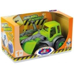 фото Машинка игрушечная Zebratoys «Трактор с ковшом»