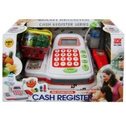 фото Касса игрушечная Shantou Gepai со сканером и набор продуктов
