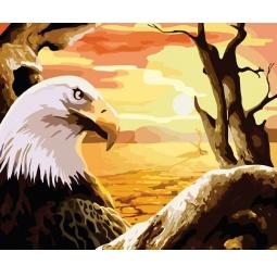 фото Набор для раскрашивания по номерам Белоснежка «Встречая рассвет»