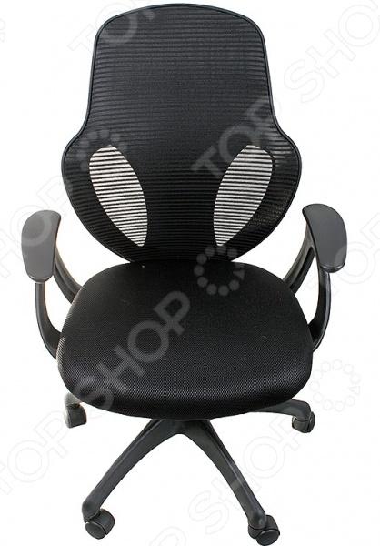 Кресло офисное College H-8880FОфисные стулья и кресла<br>Кресло офисное College H-8880F удобный предмет мебели, который подойдет для использования как в офисе, так и дома за компьютерным столом. Подбор качественного кресла очень важен для людей с сидячим видом работы, ведь от неудобного стула возникает дополнительная усталость и даже боли в спине. Эта модель соответствует всем требованиям комфорта. Отдельно следует отметить спинку из ткани с сетчатой структурой, которая адаптируется под изгибы спины пользователя. Кроме того, материал превосходно пропускает воздух, что особенно хорошо в жаркую погоду. Предусмотрена возможность регулировки высоты кресла. Основание на колесиках обеспечивает простое перемещение кресла в пределах помещения.<br>