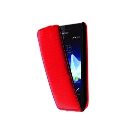 фото Чехол LaZarr Protective Case для Sony Xperia Tipo (ST21i)/ Tipo dual (ST21i2). Цвет: красный