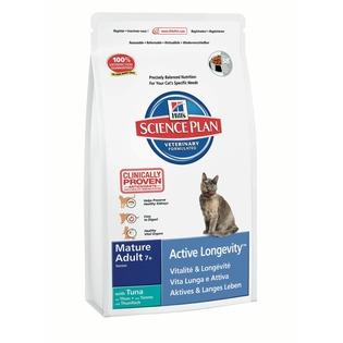 Купить Корм сухой для пожилых кошек Hill's Science Plan Mature Adult 7+ с тунцом
