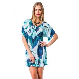 фото Туника Mondigo 8564. Цвет: голубой. Размер одежды: 46