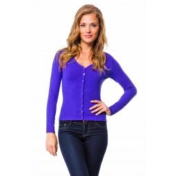 фото Жакет Mondigo 9130. Цвет: фиолетовый. Размер одежды: 42