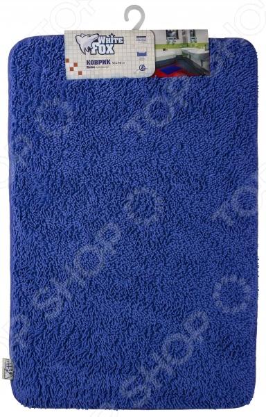 Коврик для ванной White Fox WBCH10-291 RelaxКоврики<br>Коврик для ванной White Fox WBCH10-291 Relax - мягкий и приятный на ощупь, изготовлен из качественных современных материалов. Коврик с ворсом подарит настоящий комфорт до и после принятия водных процедур. Гибкая и удобная модель обладает высокой влагоустойчивостью. Коврик придаст вашей ванной комнате уют и комфорт, с ним заходить в ванную босиком, станет приятно даже в холодное время года, кроме того, он равномерно распределяет нагрузку на всю поверхность стопы, снимая напряжение и усталость в ногах.<br>